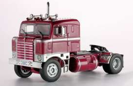 IXO Models - Kenworth  - ixTR008 : 1950 Kenworth Bullnose, red/silver