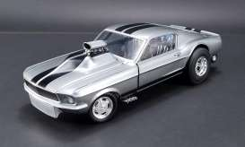 Acme Diecast - Ford Mustang - acme18885 : 1/18 1967 Mustang Gasser *Gone in 60 Seconds*, grey