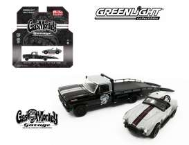 GreenLight - Ford  - gl51138 : 1970 Ford F-350 ramp truck with Shelby Cobra *Gas Monkey*