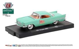 M2 Machines - Chrysler  - M2-11228-44A : 1957 Chrysler 300C *Holley* (M2-Drivers Release 44), seafoam green