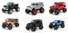 Jada Toys - Assortment/ Mix  - jada14020W15~6 : 1/64 Just Trucks assortment 15. Various trucks and pick ups.