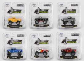 Jada Toys - Assortment/ Mix  - jada14020W16~6 : 1/64 Just Trucks assortment 16. Various trucks and pick ups.