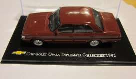 Magazine Models - Chevrolet  - magChevyOpala92 : 1992 Chevrolet Opala Diplomata collectors, red-brown