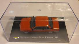 Chevrolet  - 1985 red - 1:43 - Magazine Models - magChevyMonza | Tom's Modelauto's