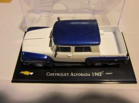 Magazine Models - Chevrolet  - magChevyAlvorada : 1962 Chevrolet Alvorada pick-up, blue/white