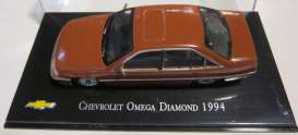 Chevrolet  - 1994 red-brown - 1:43 - Magazine Models - ChevyOmega - magChevyOmega | Toms Modelautos