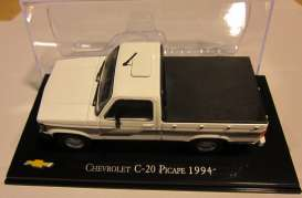 Chevrolet  - 1994 white/black - 1:43 - Magazine Models - magChevyC-20 | Tom's Modelauto's