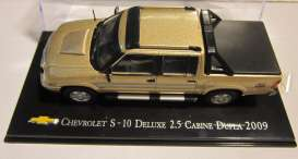 Chevrolet  - 2009 gold - 1:43 - Magazine Models - magCheS-10-2009 | Tom's Modelauto's