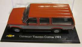 Chevrolet  - Veraneo Custom 1993 red/white - 1:43 - Magazine Models - CheVeraneo93 - magCheVeraneo93 | Tom's Modelauto's