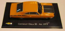 Chevrolet  - 1975 orange/black - 1:43 - Magazine Models - magChevyOpala75 | Tom's Modelauto's