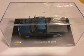 Chevrolet  - 1995 blue - 1:43 - Magazine Models - CheS-10-1995 - magCheS-10-1995 | Tom's Modelauto's