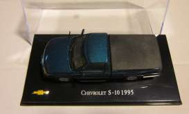 Chevrolet  - 1995 blue - 1:43 - Magazine Models - CheS-10-1995 - magCheS-10-1995 | Toms Modelautos