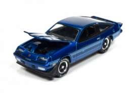 Chevrolet  - 1980 Candy Blue - 1:64 - Johnny Lightning - HC001F - JLHC001F | Tom's Modelauto's