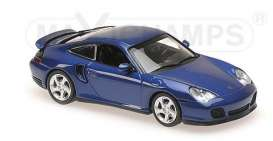 Porsche  - 1999 blue metallic - 1:43 - Maxichamps - mc940069301 | Tom's Modelauto's