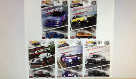 Hotwheels - Assortment/ Mix  - hwmvDJF77-956K~10 : 1/64 *Modern Classic* Assortment. Mix box of 10