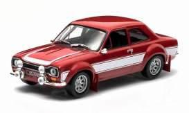 Ford  - Escort RS 2000 MKI 1973 red/white - 1:18 - Triple9 Collection - T9-1800133 | Tom's Modelauto's