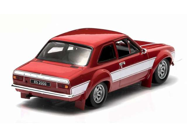 1:18 Triple 9 FORD ESCORT RS 2000 MKI 1973 RED NEW in Premium-MODELCARS