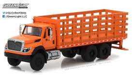 GreenLight - International  - gl45020B : 2017 International WorkStar Platform Stake Truck  *Super Duty Trucks Series 2*