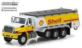 GreenLight - International  - gl45020C : 2017 International WorkStar *Shell* Tanker Truck *Super Duty Trucks Series 2*, yellow/white