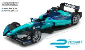 Formula E  - 2018 blue/light blue - 1:18 - GreenLight - gl18111 | Tom's Modelauto's