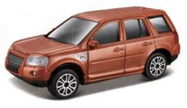 Land Rover  - 2007 orange - 1:43 - Bburago - 30168O - bura30168O | Toms Modelautos