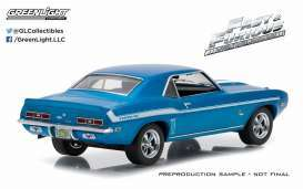 Chevrolet  - 1969 blue/white - 1:43 - GreenLight - 86206-CL - gl86206-CL | Toms Modelautos