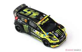 IXO Models - Ford  - IXRAM619 : 2013 Ford Fiësta RS WRC #46 Rallye Monza Rossi/Cassina, black/yellow