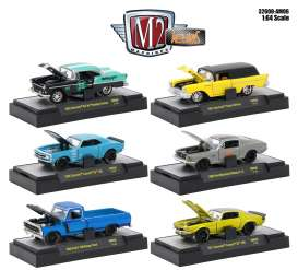 M2 Machines - Chevrolet Ford - M2-32600AM06~6 : *AUTO-MODS Release AM06* assortment of 6.