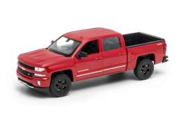 Chevrolet  - 2017 red - 1:24 - Welly - 24083r - welly24083r | Tom's Modelauto's