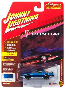 Ford  - 1985 blue - 1:64 - Johnny Lightning - CG011A - JLCG011A | Toms Modelautos