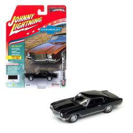 Chevrolet  - 1971 black - 1:64 - Johnny Lightning - MC009A - JLMC009A | Toms Modelautos