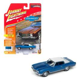 Chevrolet  - 1971 blue - 1:64 - Johnny Lightning - MC009B - JLMC009B | Tom's Modelauto's