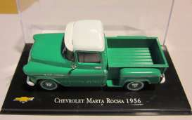 Magazine Models - Chevrolet  - magChevy3100-56*1 : 1956 Chevrolet 3100 *Marta Rocha* pick-up, green/white
