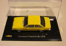 Chevrolet  - 1979 yellow - 1:43 - Magazine Models - magCheChevette79 | Tom's Modelauto's
