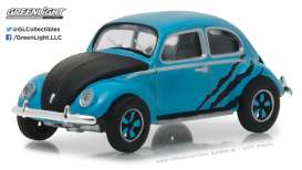 Volkswagen  - 1950 blue/black - 1:64 - GreenLight - gl29890A | Tom's Modelauto's