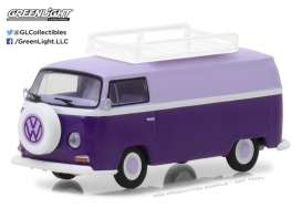 Volkswagen  - 1971 purple - 1:64 - GreenLight - gl29890C | Tom's Modelauto's