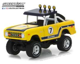 Ford  - 1972 yellow - 1:64 - GreenLight - gl35090B | Tom's Modelauto's
