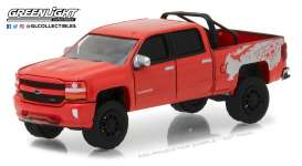 Chevrolet  - 2018 red - 1:64 - GreenLight - gl35090F | Tom's Modelauto's