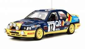 Ford  - Sierra 4x4 blue/yellow - 1:18 - OttOmobile Miniatures - otto732 | Toms Modelautos