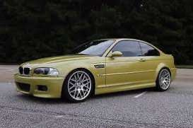 OttOmobile Miniatures - BMW  - ottoG025 : 2003 BMW M3 E46 *Resin Serie*, phoenix yellow