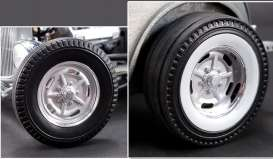 Wheels & tires Rims & tires - chrome - 1:18 - Acme Diecast - acme1805013W | Tom's Modelauto's