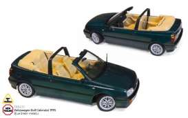 Norev - Volkswagen  - nor188431 : 1995 Volkswagen Golf Cabriolet, blue green metallic