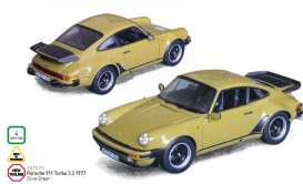 Norev - Porsche  - nor187575 : 1977 Porsche 911 TUrbo, olive green