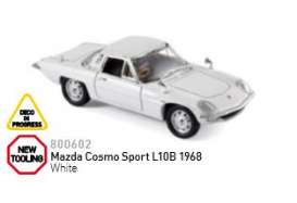 Mazda  - 1968 white - 1:43 - Norev - nor800602 | Tom's Modelauto's