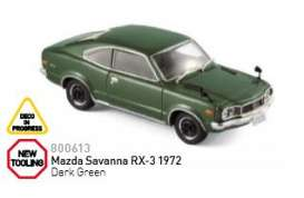 Mazda  - 1972 dark green  - 1:43 - Norev - nor800613 | Tom's Modelauto's