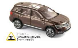 Renault  - 2016 brown metallic - 1:43 - Norev - nor518392 | Tom's Modelauto's
