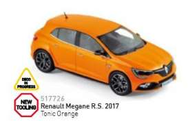 Renault  - 2017 tonic orange - 1:43 - Norev - nor517726 | Tom's Modelauto's