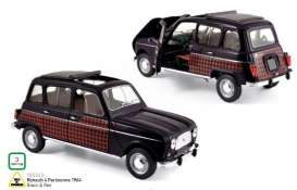 Norev - Renault  - nor185242 : 1964 Renault 4 Parisienne, black/red