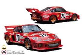 Porsche  - 1979 red - 1:18 - Norev - nor187436 | Tom's Modelauto's
