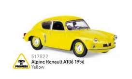 Renault  - 1990 yellow - 1:18 - Norev - nor517822 | Tom's Modelauto's